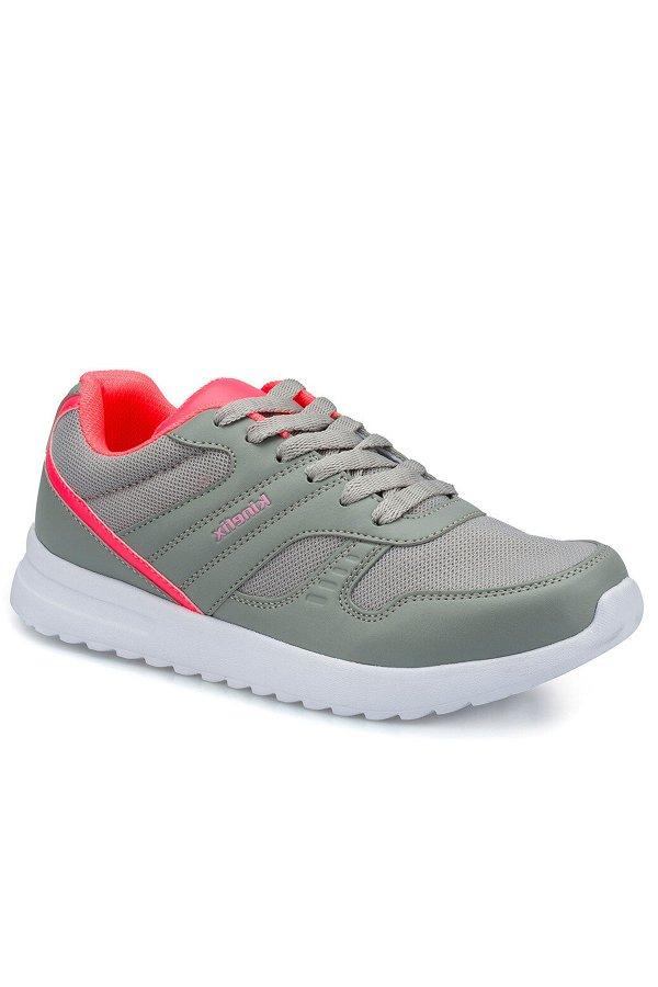 Kinetix Randi Mesh Kadın Spor Ayakkabı GRI