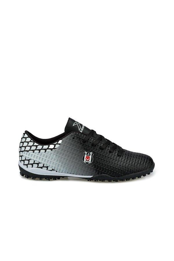 Kinetix Turf Bjk Siyah Erkek Halı Saha Ayakkabısı