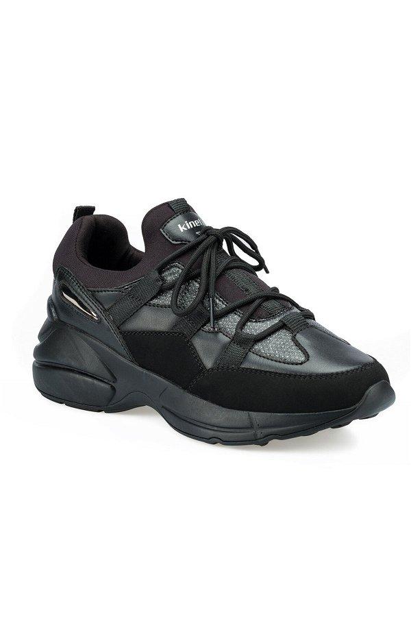 Kinetix Vicent Kadın Spor Ayakkabı SIYAH