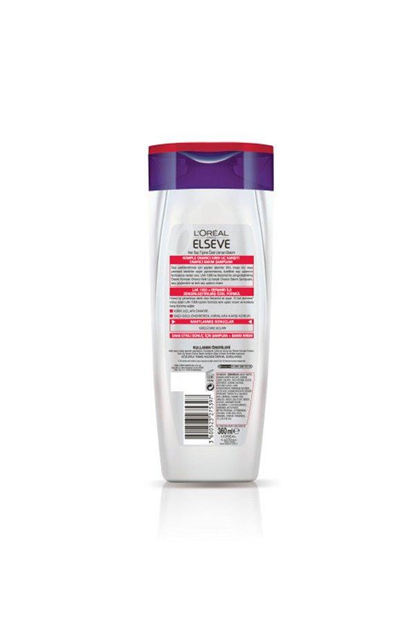 L'Oreal Paris Elseve Komple Onarıcı Kırık Uç Karşıtı Onarıcı Bakım Şampuanı 360 ml STD