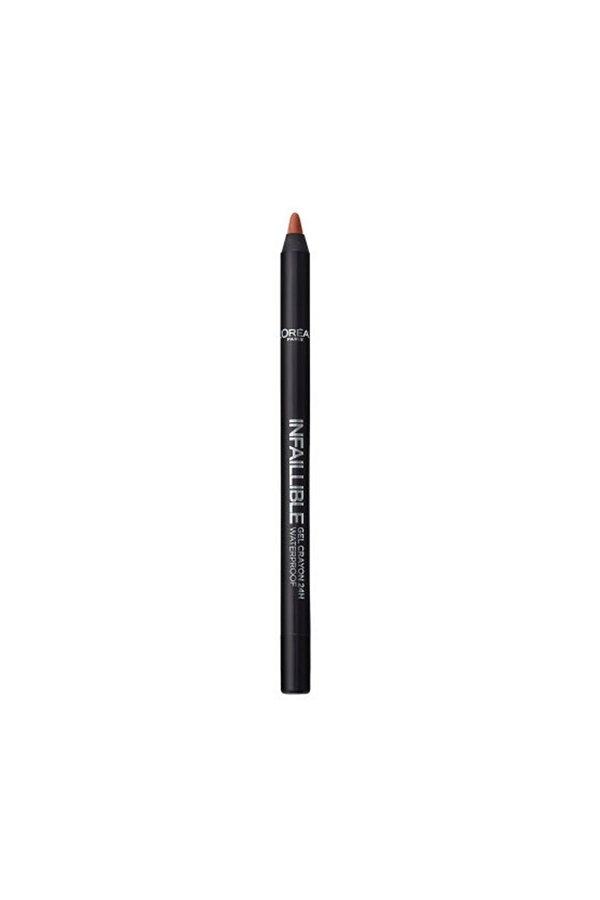 L'Oreal Paris Infaillible Gel Crayon Göz Kalemi 05 Super Cooper - Bakır STD