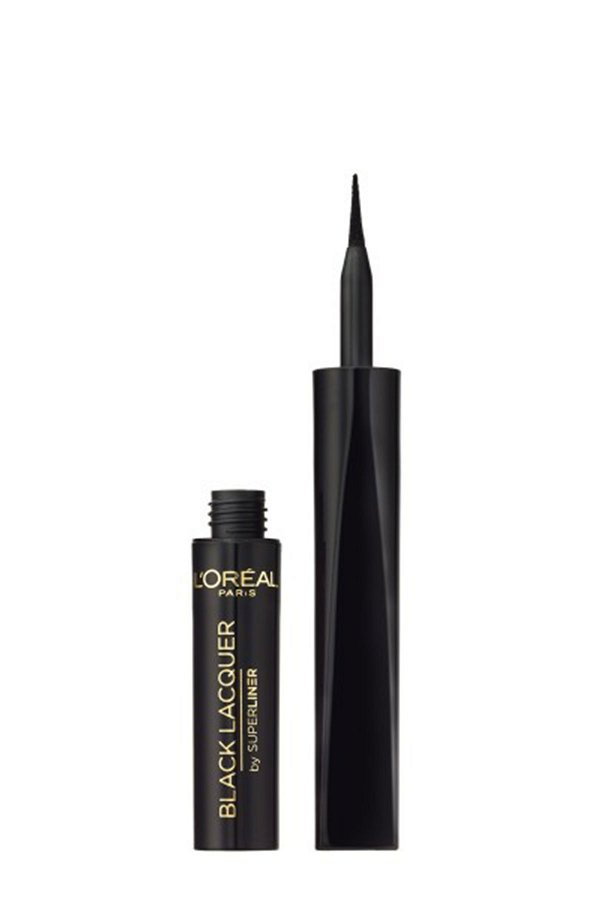 L'Oreal Paris Superliner Black Lacquer Waterproof Eyeliner - Siyah STD