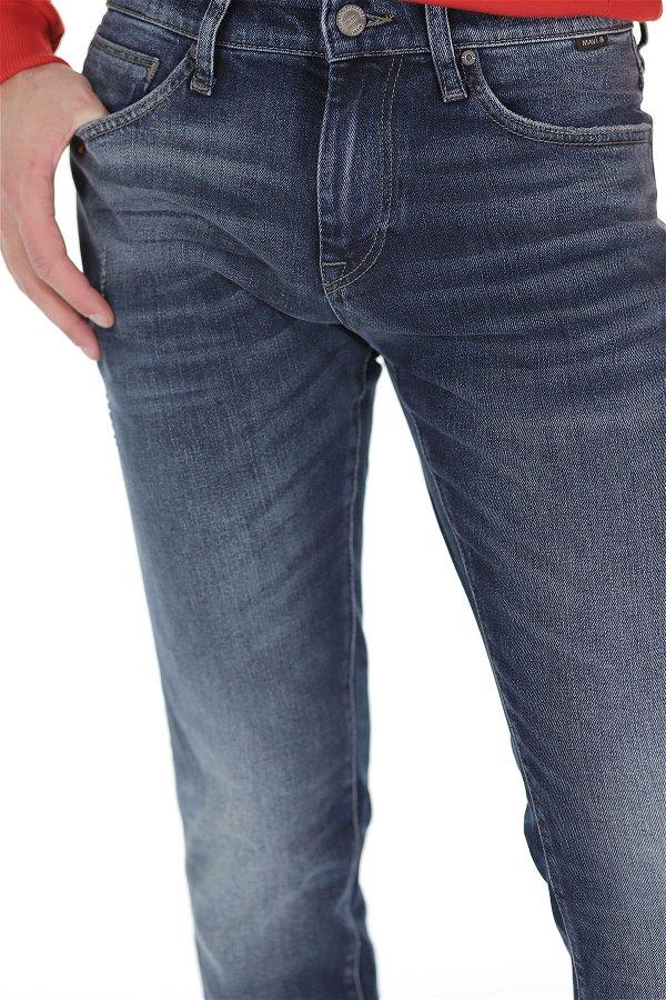 Mavi Jeans Jake Dark Used Black