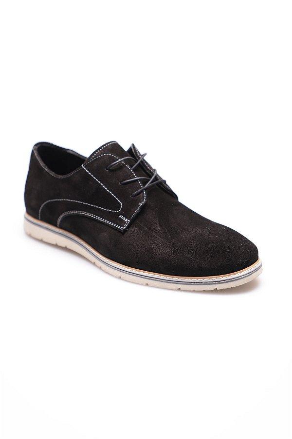 Bağcıklı Ayakkabı SIYAH-SÜET