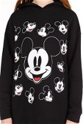 Mickey Mouse Baskılı Kapüşonlu Sweat