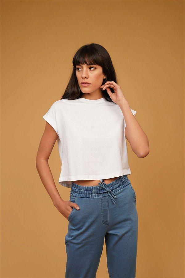 Mini T-shirt Beyaz