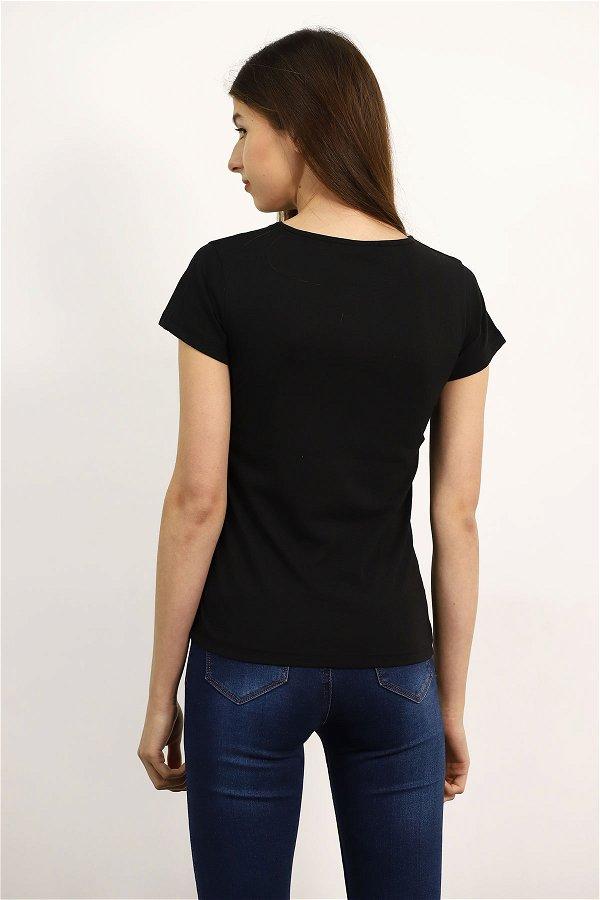 Nasa Baskılı T-shirt