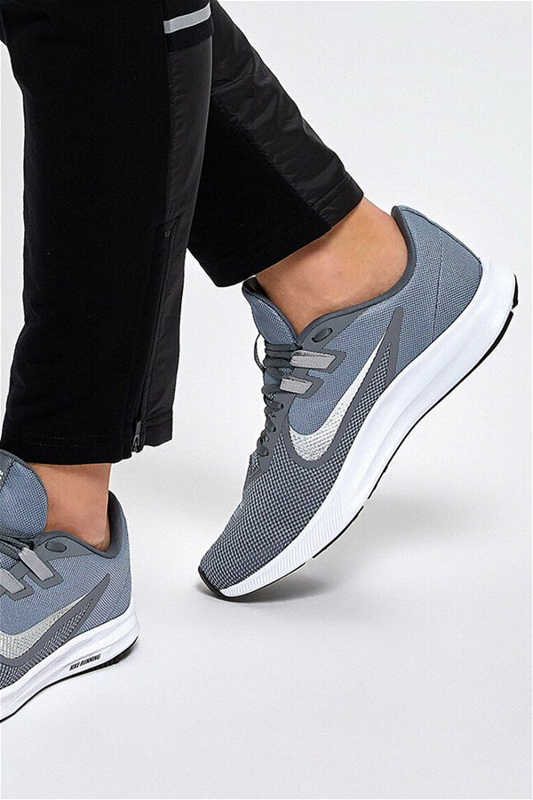 NIKE DOWNSHIFTER 9  COOL GREY/METALLIC SILVER-WOLF GREY GRI