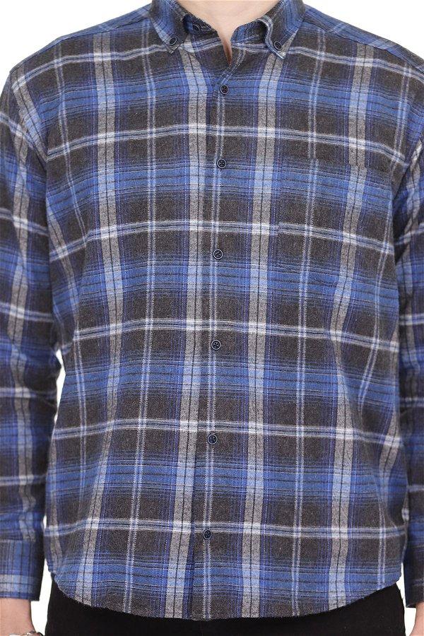 Oduncu Gömlek MAVI
