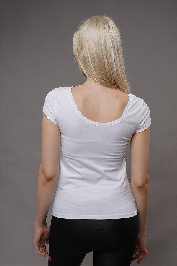 Basic T-shirt Beyaz