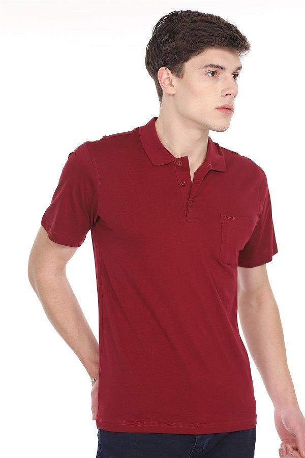 Polo Yaka T-shirt BORDO