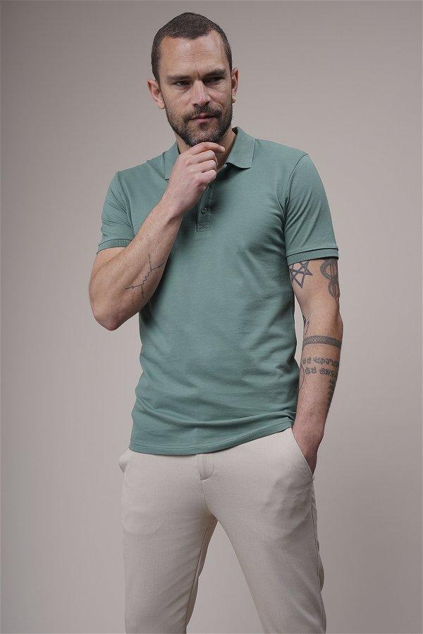 Polo Yaka T-shirt YESIL