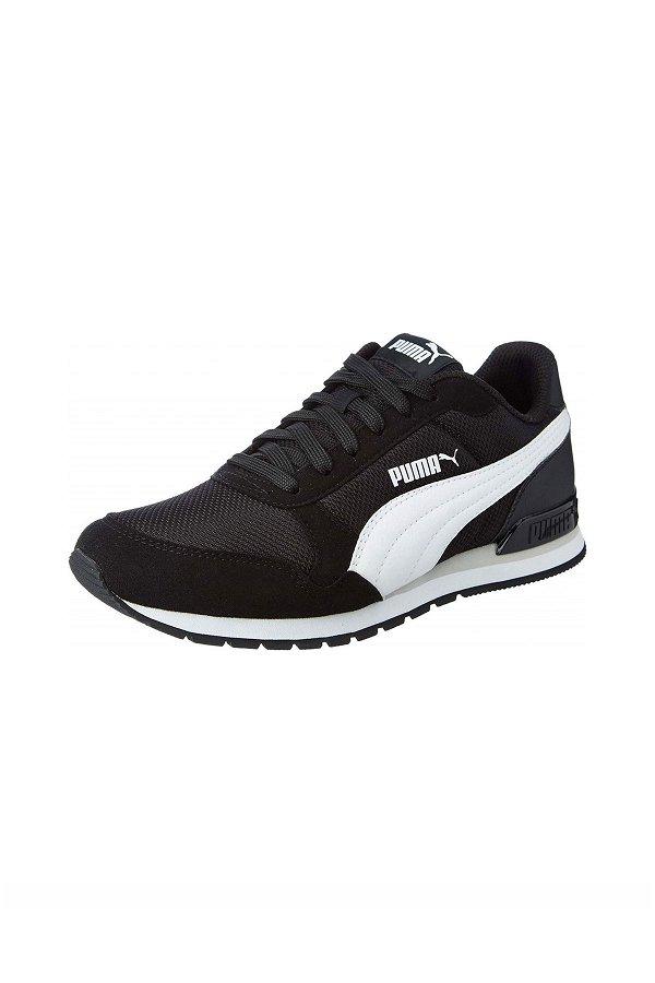 Puma Runner Kadın Spor Ayakkabı SIYAH-BEYA