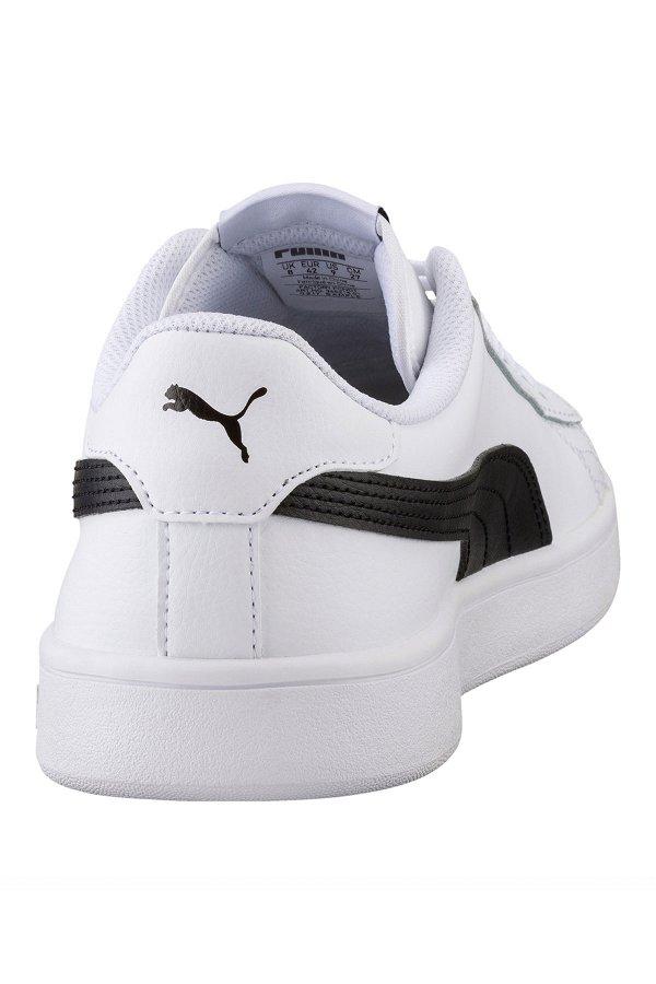 Puma Smash Erkek Spor Ayakkabı BEYAZ-SIYA