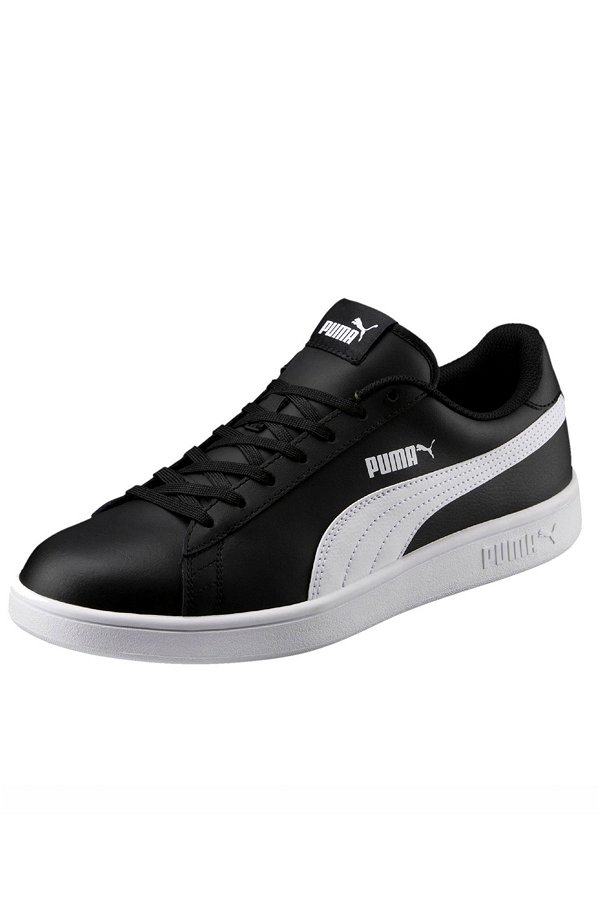 Puma Smash Erkek Spor Ayakkabı SIYAH-BEYA