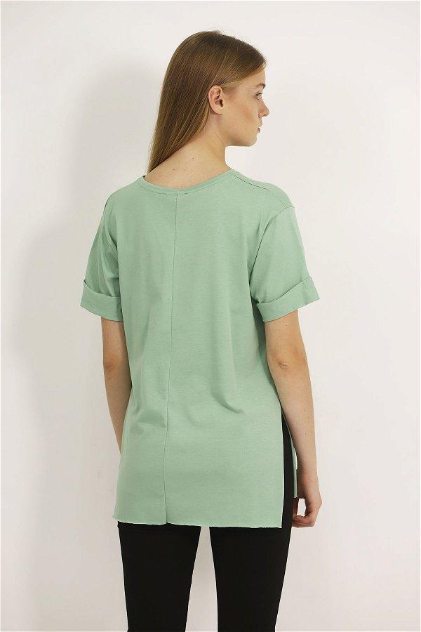 Reserved Baskılı T-shirt MİNT
