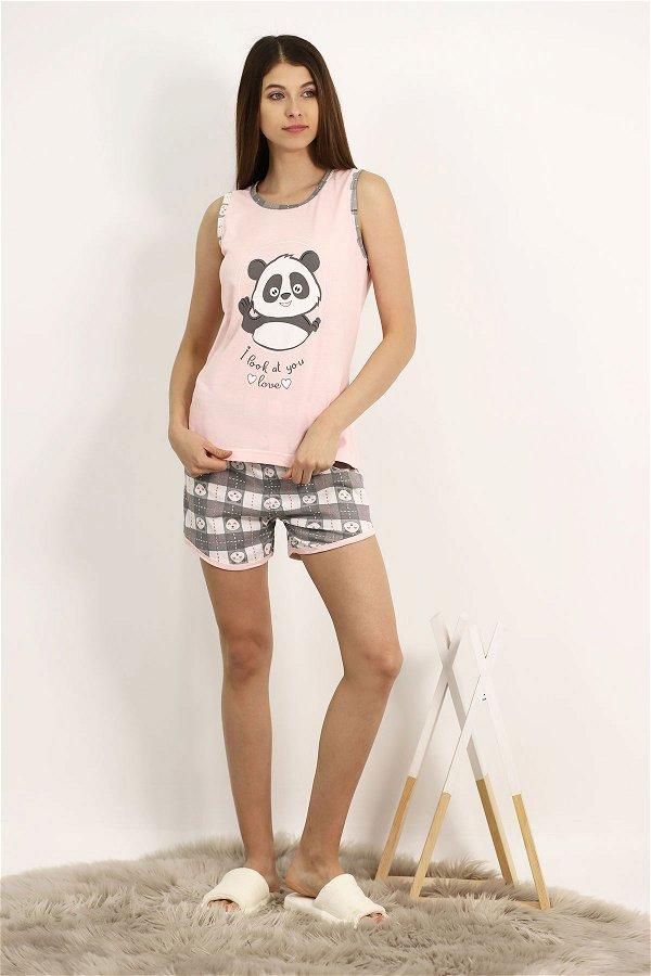 Şortlu Pijama Takımı PUDRA