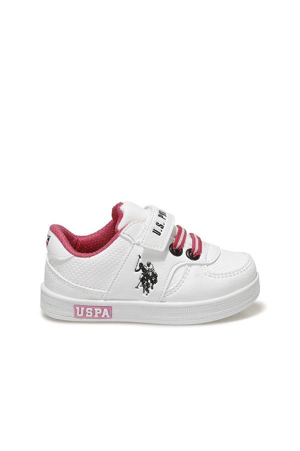 U.S Polo Cameron Çocuk Spor Ayakkabı Beyaz