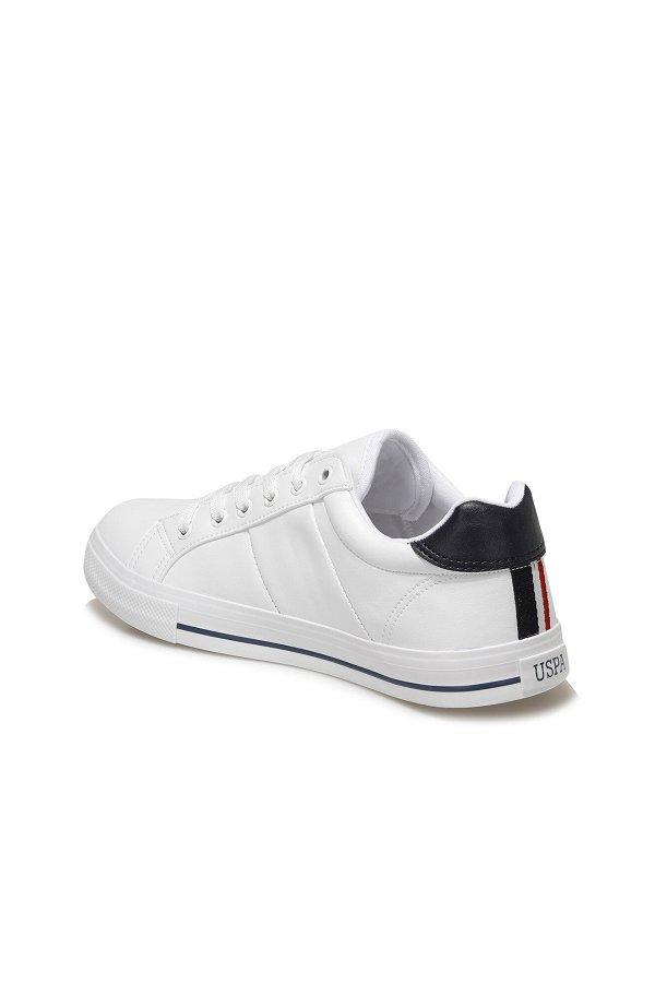U.S Polo Pure Erkek Spor Ayakkabı BEYAZ