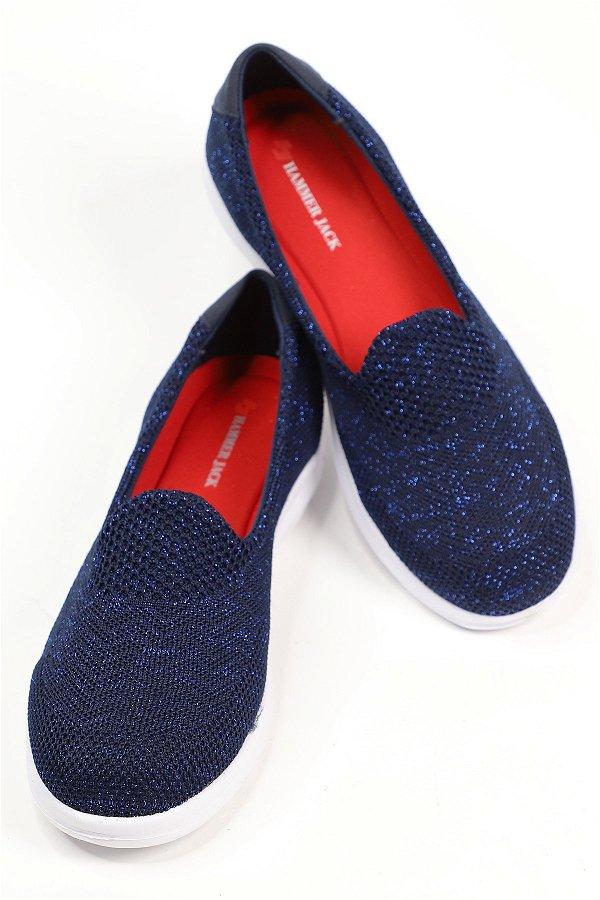 Hammerjack Yazlık Rahat Taban Günlük Kadın Ayakkabı LACIVERT