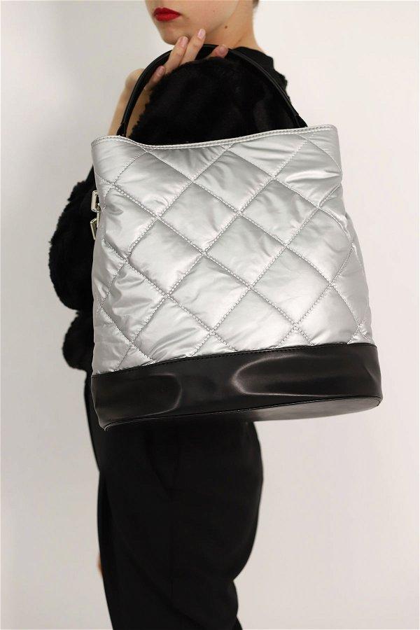 Zincir Detaylı Omuz Çanta